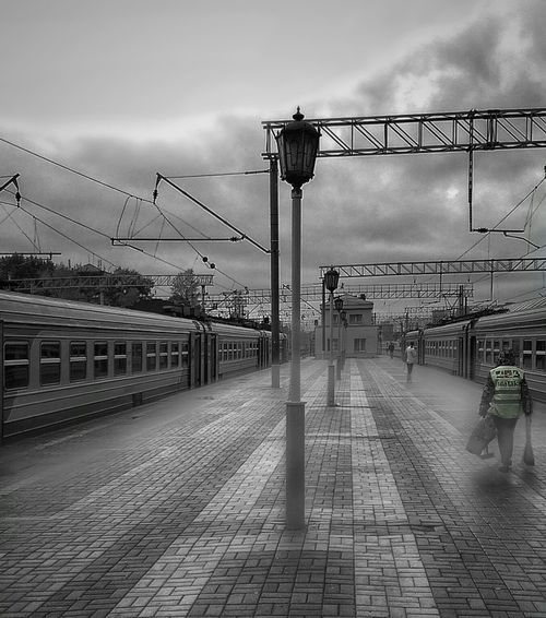 Day Outdoors Sky Transportation Tranport Railroad Station Railroad Station Platform Railroadphotography
