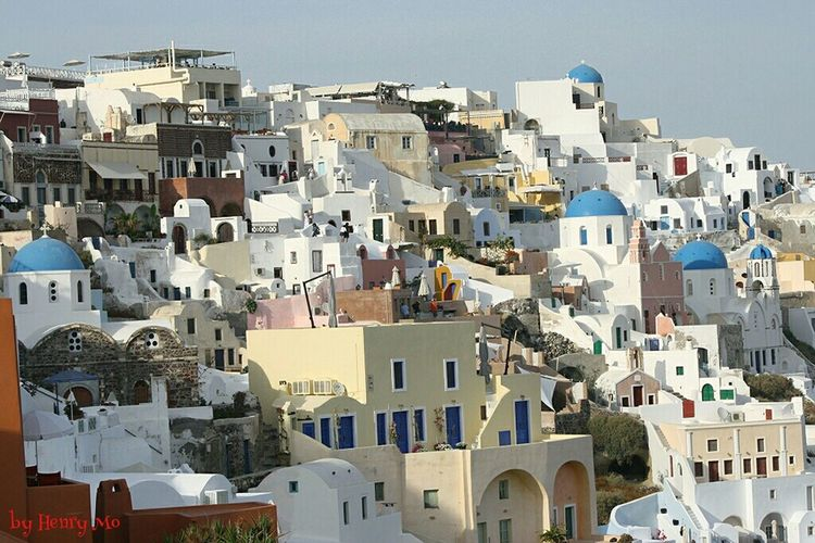 Oia - Santorini Architecture Hello World Eye4photography  Streetphotography