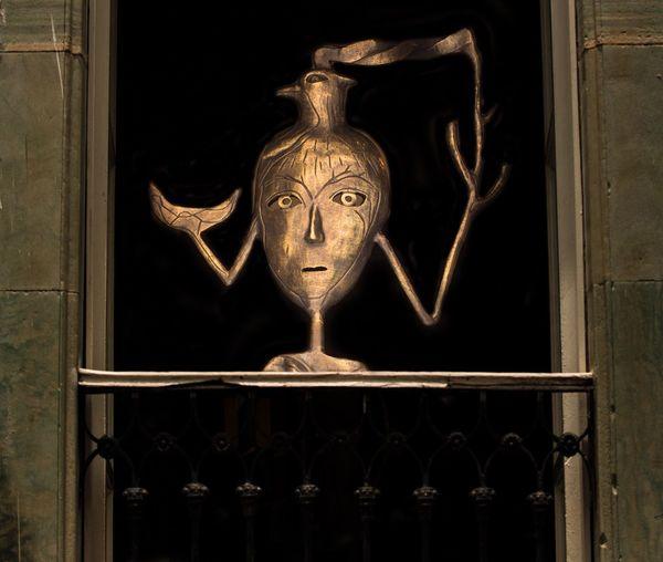 Door Door Knocker No People Old-fashioned Close-up Sculpture Indoors  Day