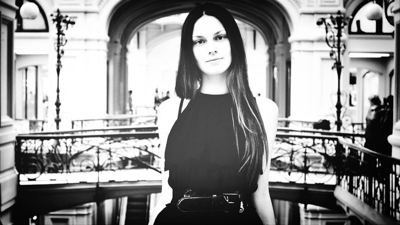 ГУМ Photoshoot Moscow Girl