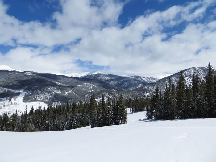 EyeEm Selects Snow Winter Cold Temperature Mountain Nature Landscape Beauty In Nature Sky Tranquil Scene No People Outdoors Scenics Tree Range Day KeystoneSkiResort Keystone Colorado Been There.