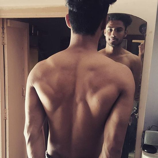 420 POST Love Instagood Me Back Follow Bodybuilding Photooftheday Body Backmuscles Muscular Kdsingh