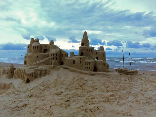 The Great Outdoors With Adobe Sand Castle ! Ocean View Ocean Photography