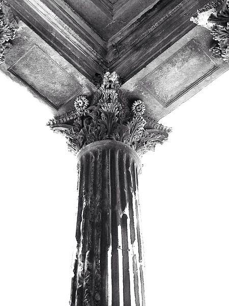 Architecture Blackandwhite Column Capitals Eye4black&white