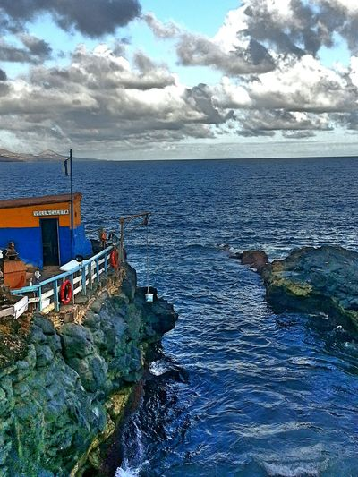 La Puntilla Sea And Sky Rocks Beautiful Nature Sea Views