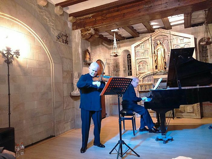 Tribute To the maestro Josep Guinard y Ortiga by Brothers Evelio and Cecilio Tieles great Teachersand Professors of Music