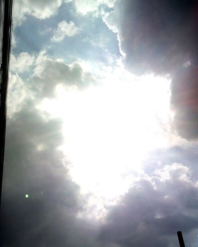 Sunshine Day Nice Atmosphere Clouds And Sky Heaven Gates