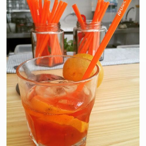 Americano Tarde de Aperitivos en Bruncheria Drinking Drinks ☆En Divine Blog : https://wp.me/p1li0G-jj