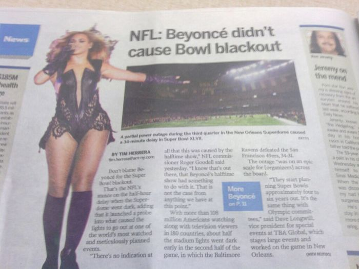 Superbowl Controversy