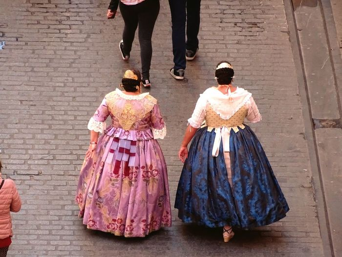 Traditional Clothing Two People Outdoors Falleras Young Adult Arts Culture And Entertainment Taking Photos SPAIN València Popular Photos Miles Away EyeEm Best Shots Travel Destinations Falles2017 Fallasunesco First Eyeem Photo Cityscape UNESCO World Heritage Site Young Women People Women Around The World Millennial Pink EyeEm Diversity