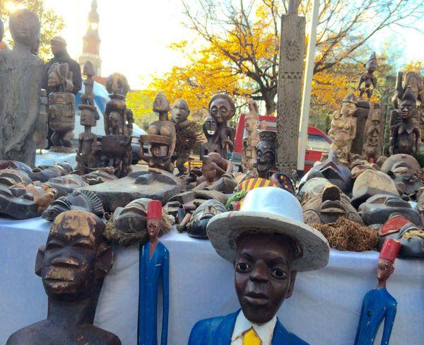 African Skulptur