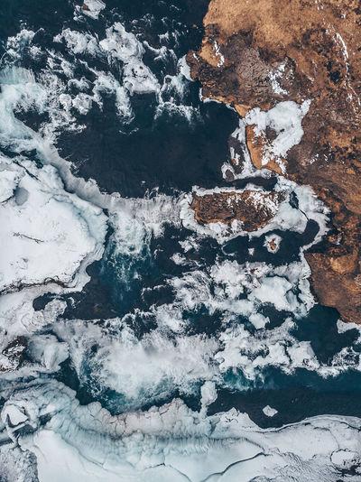 Reykjafoss waterfall Aerial Shot DJI Mavic Pro DJI X Eyeem Ice Iceland Memories Mavic Air Nature Power Power Of Water Reykjafoss Aerial Aerial View Iceland_collection Mavic Reykjafoss Waterfall Rock - Object Water Waterfall