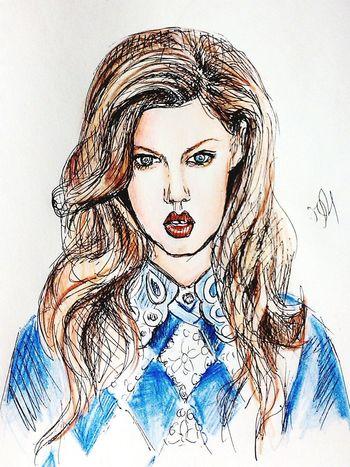 Illustration Drawing Graphics Lindseywixson Fashionillustration Quicksketch