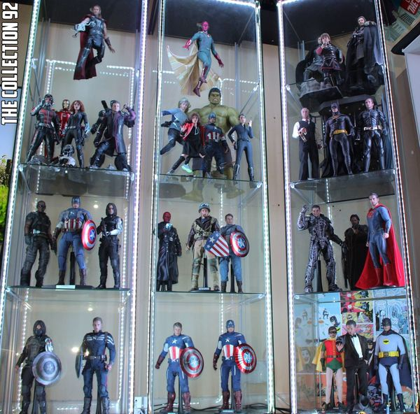 Part of Hot Toys & Threezero collection 💪 Hottoys Toyartistry Toygroup_alliance Batman Superman Batmanvsuperman Ironman Captainamerica Civilwar Marvel Dccomics Toy Photography Display Toycommunity TC92 Antman JonSnow Gameofthrones Photo Comics