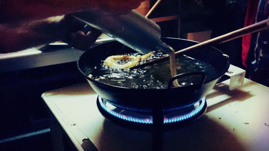 Churros SPAIN Tradition Churros Artisian Cooking Party Sony Xperia Z5