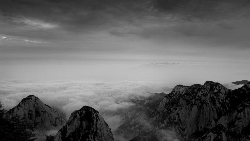 Mountain Cloud - Sky Rock - Object Outdoors Nature Sky Landscape Nature Dramatic Sky