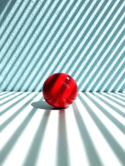 Red ball.