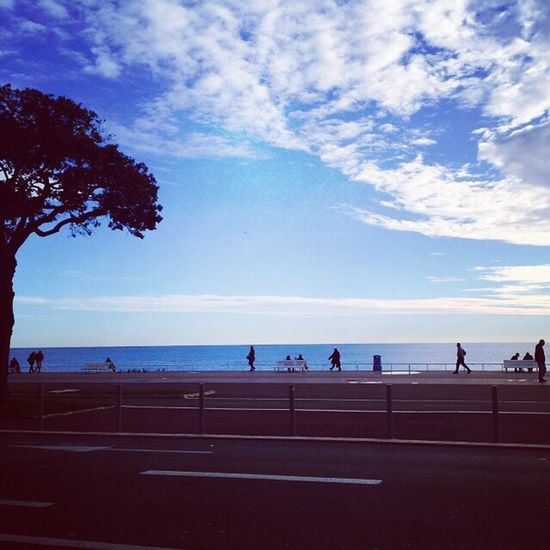 France Nice Sea