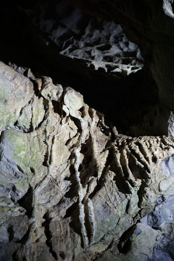 Stalactite  Beauty In Nature Beauty In Nature Cave Close-up Day Geological Geological Formation Geology Indoors  Indoors  Nature No People Physical Geography Rock - Object Rock Formation Stalacmite Stalactite  Stalagnate Textured