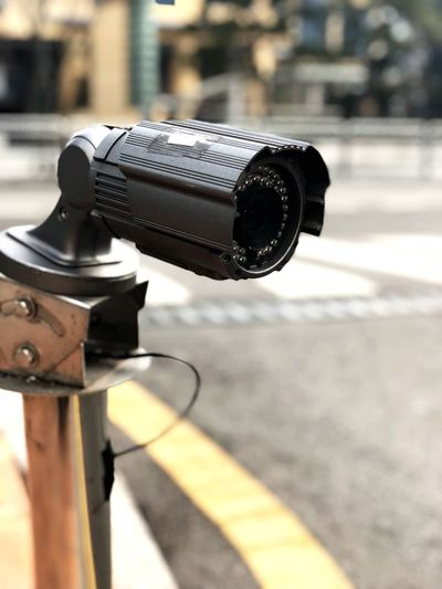 Security Camera Surveillance Camera Security Camera Closed Circuit Television Closed Circuit Tv Closed Circuit Camera Cctv Camera Cctv Camera Focus On Foreground Outdoors Coin-operated Binoculars Day No People Close-up Technology