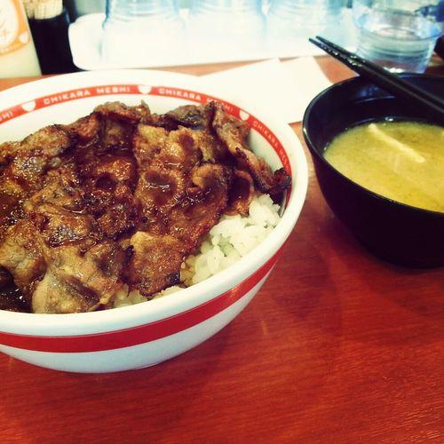 Japanese Food いただきます うまい! おいしい