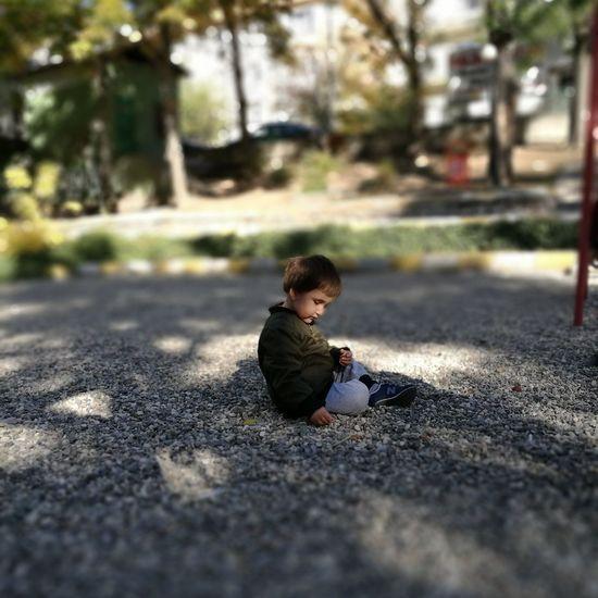 Aslan One Boy Only Children Only Outdoors Tree Child MySON♥ Day Baby People Ankara Türkiye One Person
