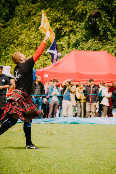 Highland Games Kilt Leisure Activity Lifestyles Men Real People Scotland Standing Throwing  The Portraitist - 2016 EyeEm Awards