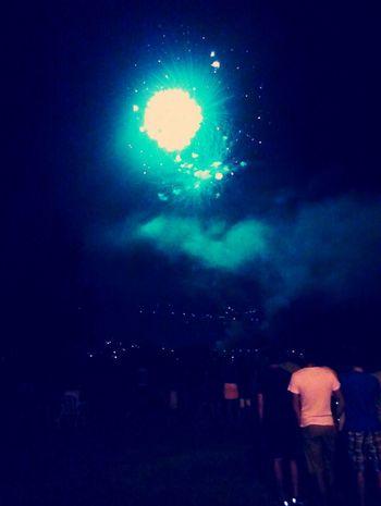 Beautiful Fireworks Happy Perfect