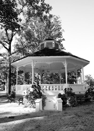 Brampton gazebo No People Architecture Day Built Structure Building Exterior Outdoors Tree Sky Gazebo Close-up