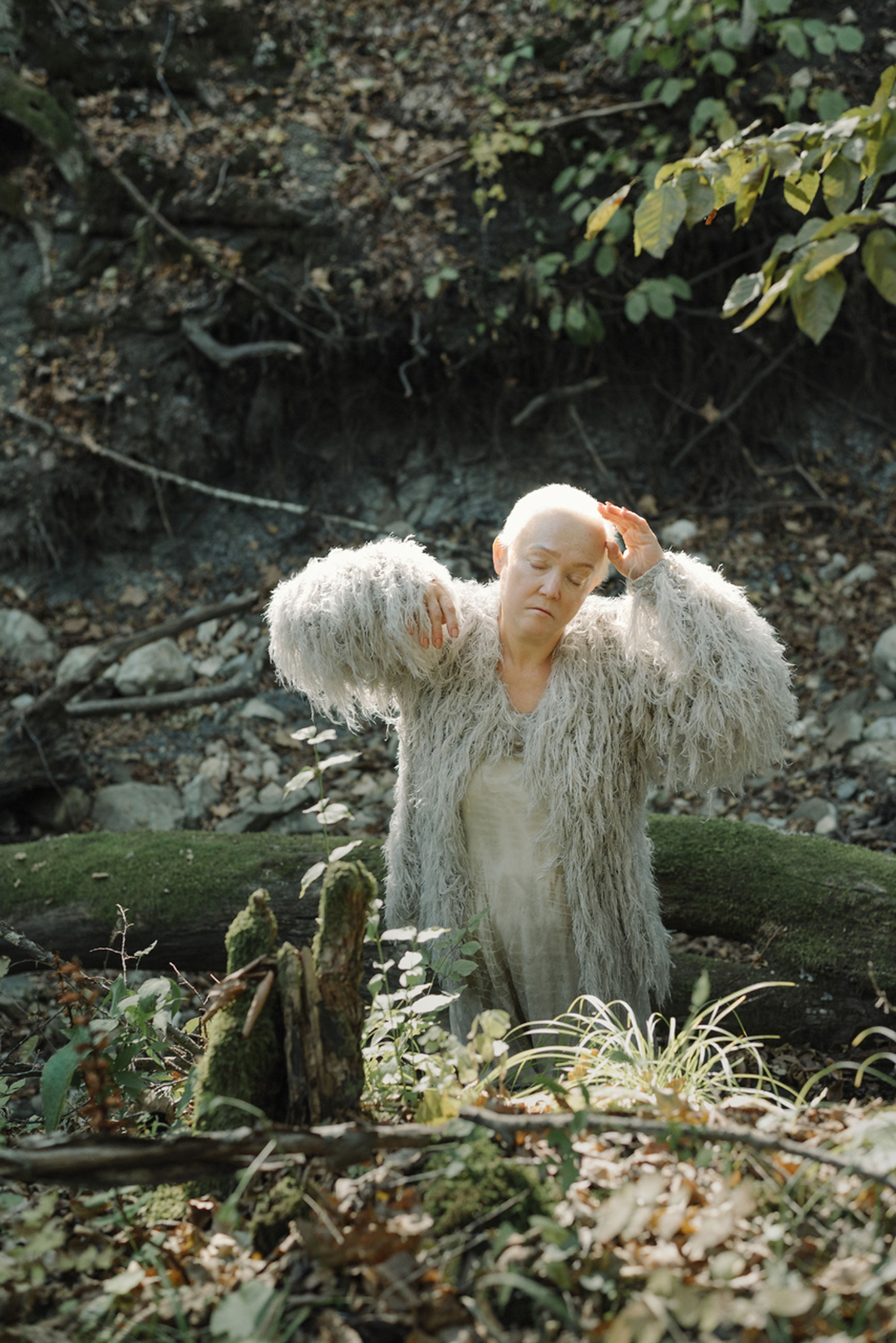 forest, tree, land, nature, plant, women, day, people, hair, adult, young adult, outdoors, plant part, leaf, hairstyle, blond hair, emotion, woodland, angel