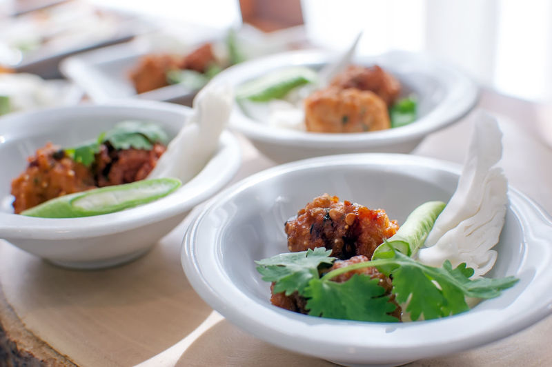 Spicy Fried Chicken Spicy Fried Chicken Ready-to-eat Food Food And Drink Freshness Table Bowl Serving Size Focus On Foreground Plate Indoors  Healthy Eating Still Life Close-up Wellbeing Vegetable Meat Salad No People Kitchen Utensil Eating Utensil Snack Crockery Temptation