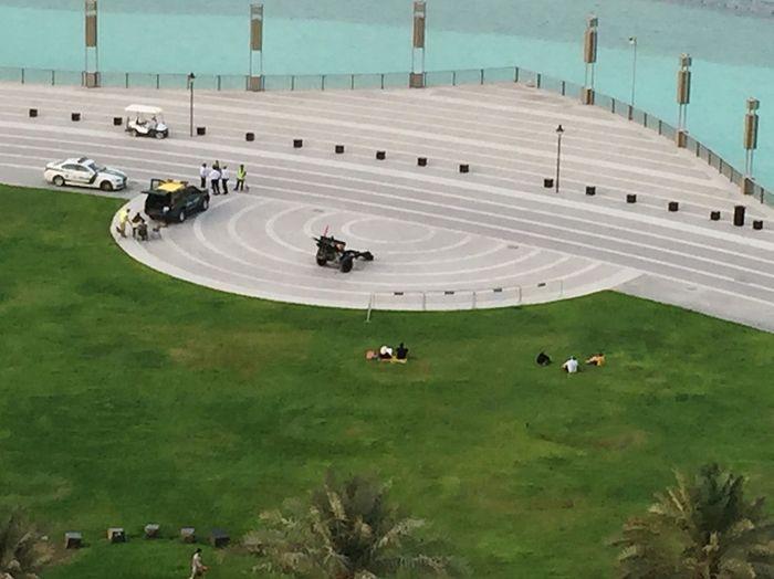 UAE Dubai Downtown Today's Hot Look Most Popular Iftartime Burj Khalifa Beautiful Iftar Gun Iftar Shoot