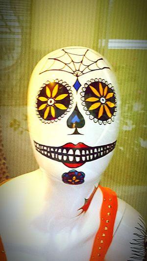 Mascara Maniquí Maniquie Raro Estraño