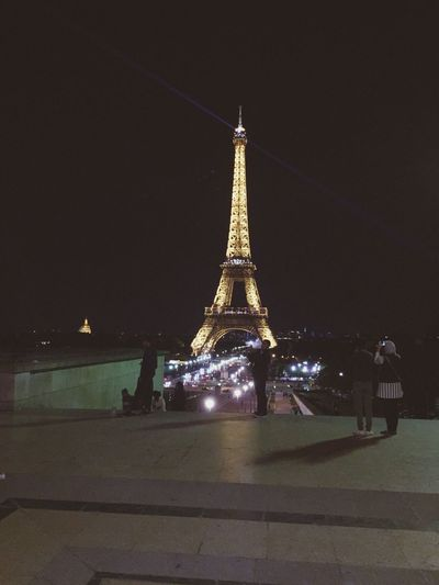 Neuilly Sur Seine Paris Night Illuminated City France Beautiful Architecture Monde