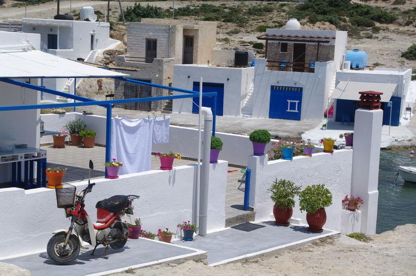 Griechenland Milos Island Architecture Building Exterior Built Structure Day Greece Milos No People Outdoors