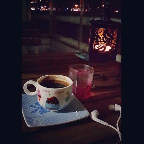 İyi geceler🌘 Iyigeceler Goodnight Muzik 🎼🎶 Gece Night Mylife Myhome Coffee Turkkahvesicandir Kendimle