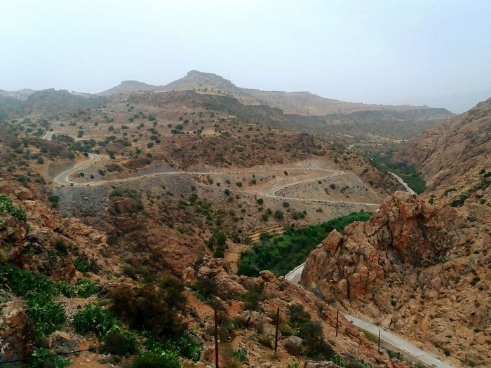 mountain road Atlasmountains Antiatlas Idaougnidif Morocco Company Paysage Mountains Daylight Anti-atlas MoroccoTrip Morocco_travel Prickly Pear Prickly Pear Flowers Argan Trees The Great Outdoors - 2018 EyeEm Awards