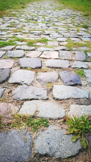 Cobblestone Outdoors Textured  No People Close-up Backgrounds Cobblestone Streets Old Road Classic Road Old Fashion Style Old Fashion