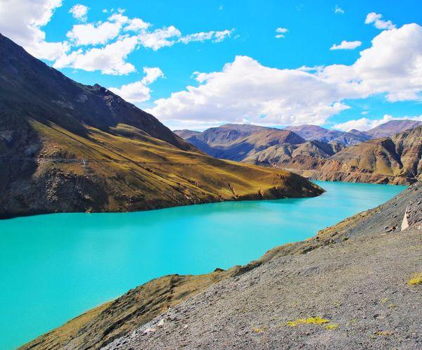 tibet Water Cloud - Sky Sky No People