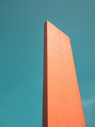 Abstract Abstractart Architecture Architecture_collection Barragán Blue Building Built Structure City Classic Day Fine Art Photography Geometry High Section Low Angle View Modern Modern Nature No People Outdoors Part Of Sky Tall Tall - High Urban Geometry