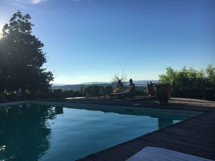 Tranquility Urbino Italy Swimming Pool Relaxing Hills