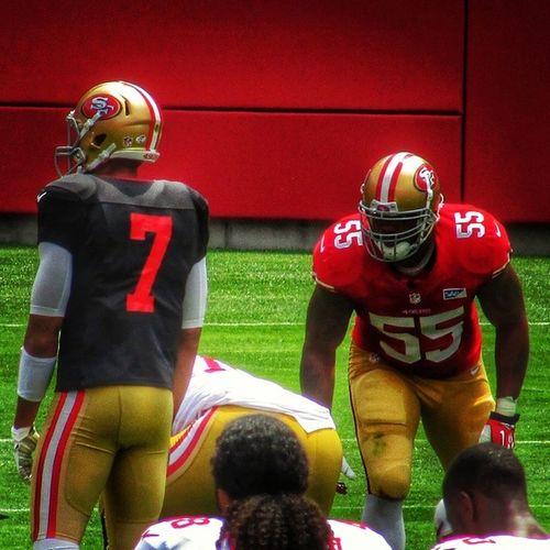 NFL Niners Ninerfan Ninerempire 49ers 49ersfan 49erempire 49erfaithful 49erfans goldblooded goniners 9ers 9ersfan the_niner_empire nfltrainingcamp 49erstrainingcamp sf49ers sanfrancisco49ers ahmadbrooks 55 linebacker colinkaepernick kaepernick 7