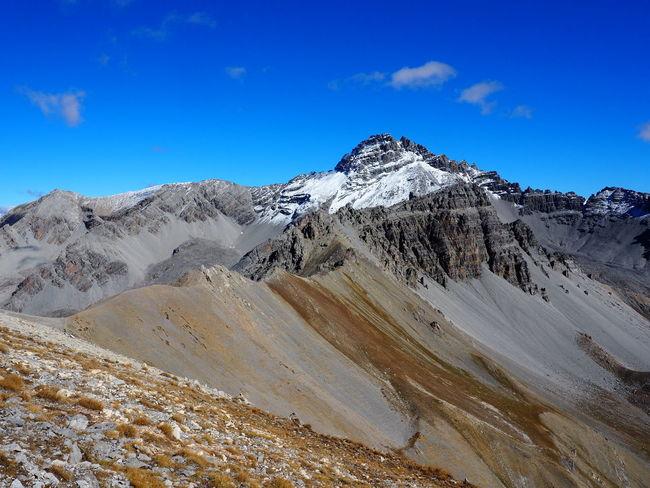 Mountain Beauty In Nature Mountain Range Snow Blue Mountain Peak Snowcapped Mountain Landscape Environment Queyras Pic De Rochebrune EyeEmNewHere EyeEm Nature Lover