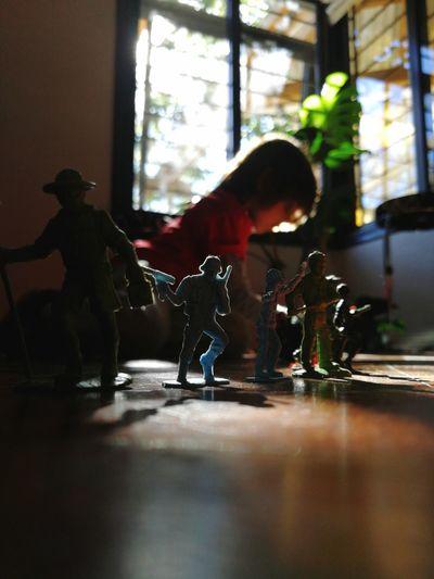 Toy Kid Playing