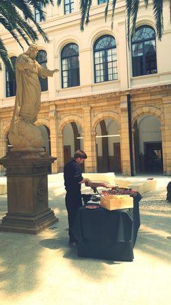 Universidad De Deusto One Person Statue Jesus Bilbao Bacons Jamon SPAIN Deusto Adult