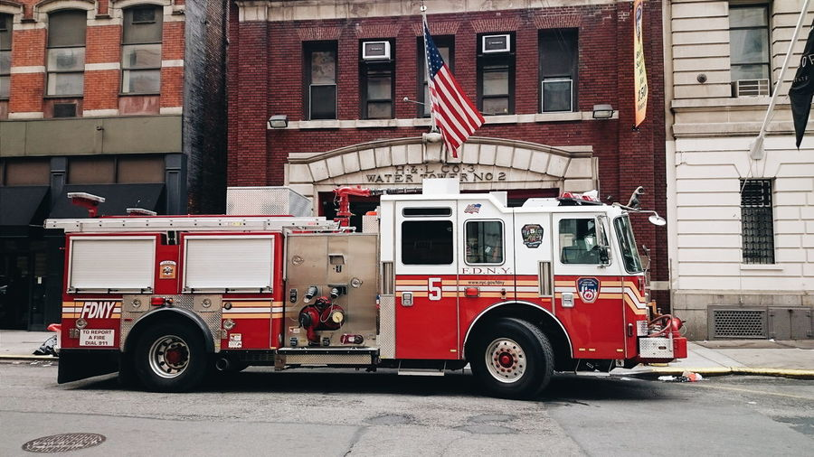 New York fire department Fire Engine City Architecture New York City New York
