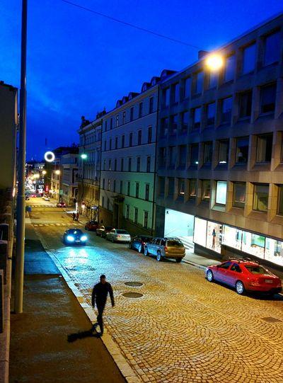 Last Night Helsinki By Night City Lights