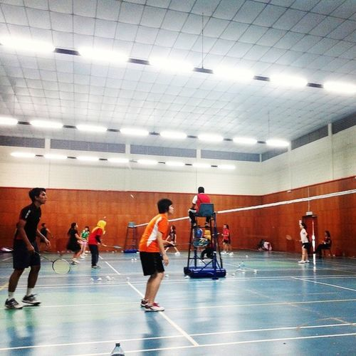 The badminton tournament for UTPSportsCarnival is currently on! Rooting for EEians !