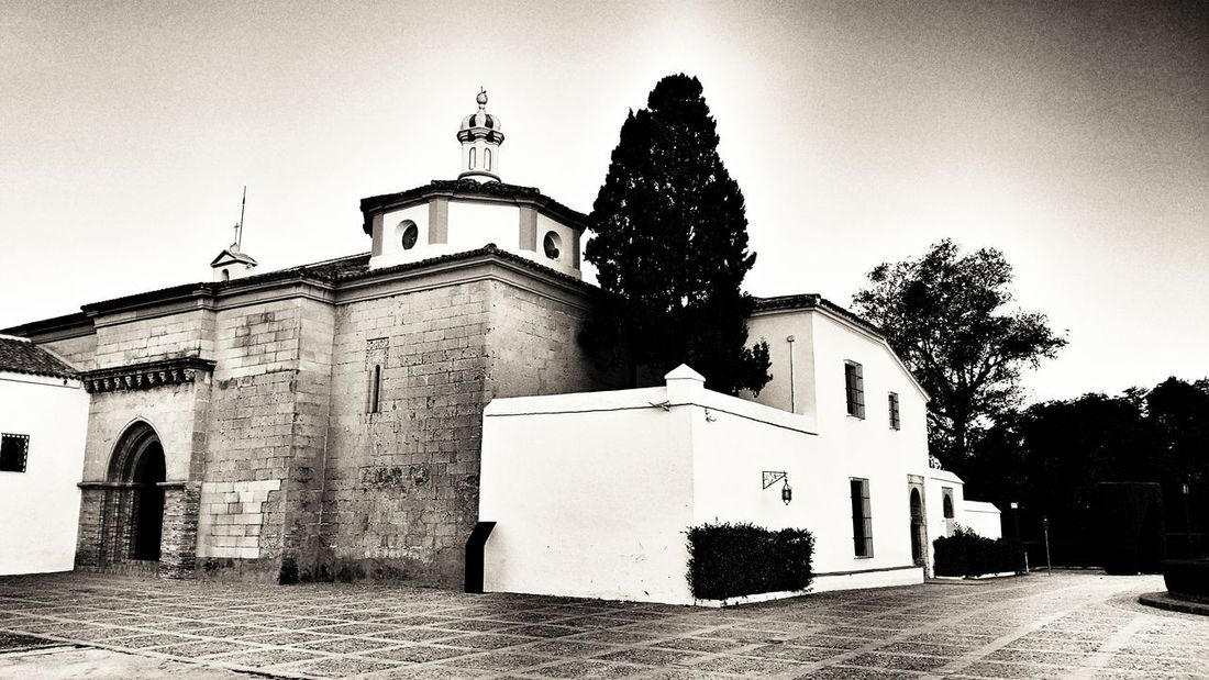 Sky Archival Built Structure Outdoors No People Architecture Day La Rabida Monastery, Huelva ( Spain ) Huelva, Spain Huelva