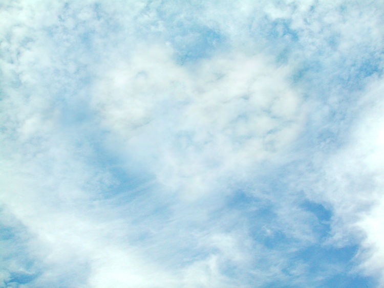Backgrounds Beauty In Nature Blue Cloud - Sky Cloudscape Day Full Frame Heaven Idyllic Low Angle View Meteorology Nature No People Outdoors Scenics - Nature Sky Tranquil Scene Tranquility White Color